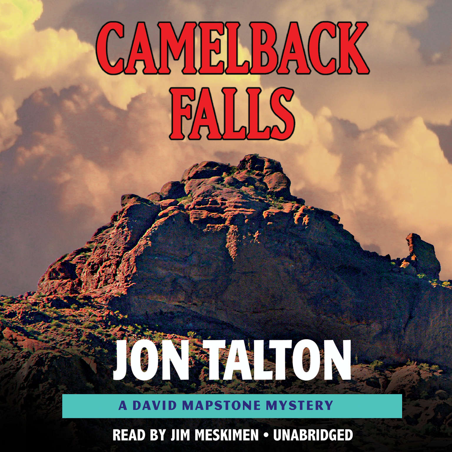 Printable Camelback Falls Audiobook Cover Art
