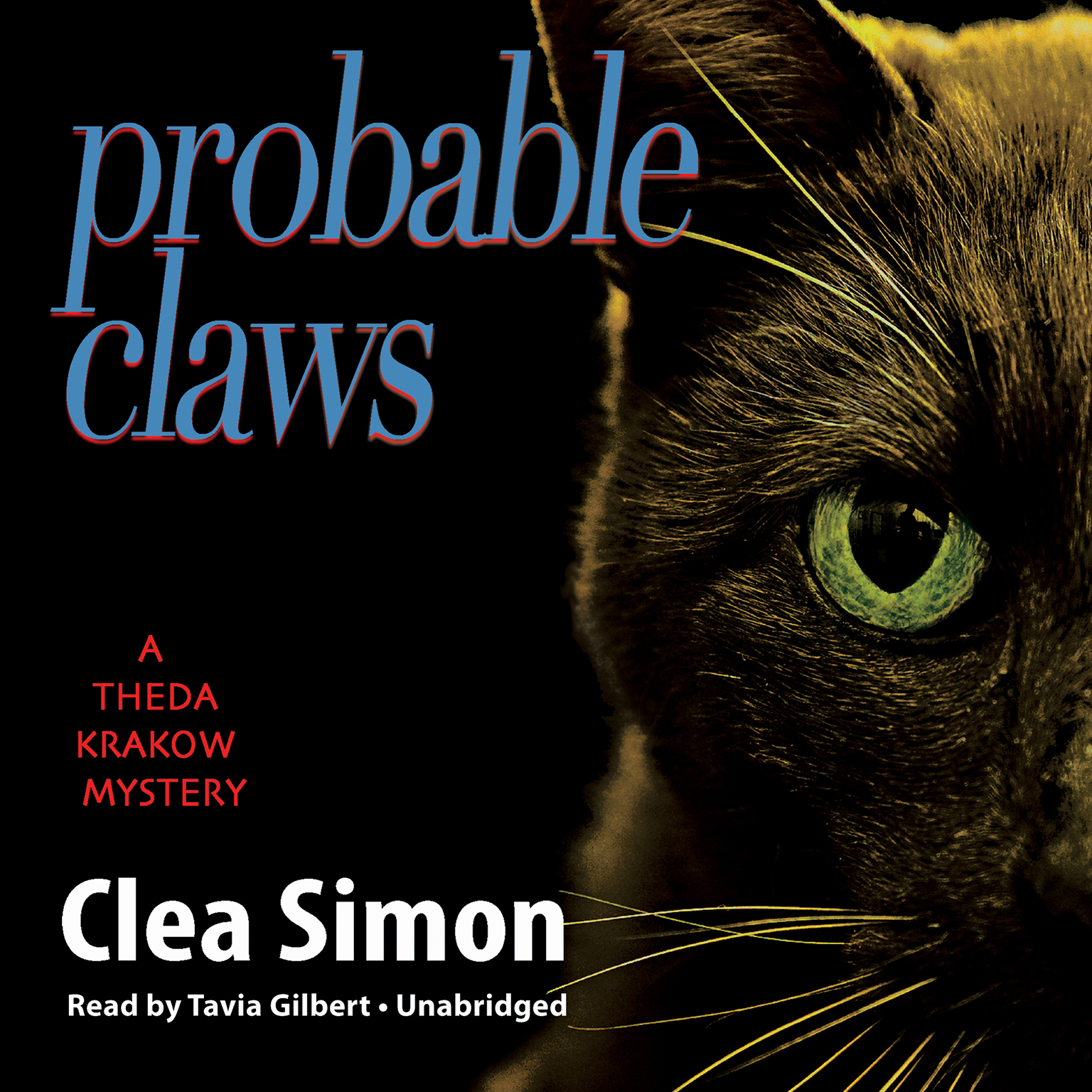 Printable Probable Claws Audiobook Cover Art