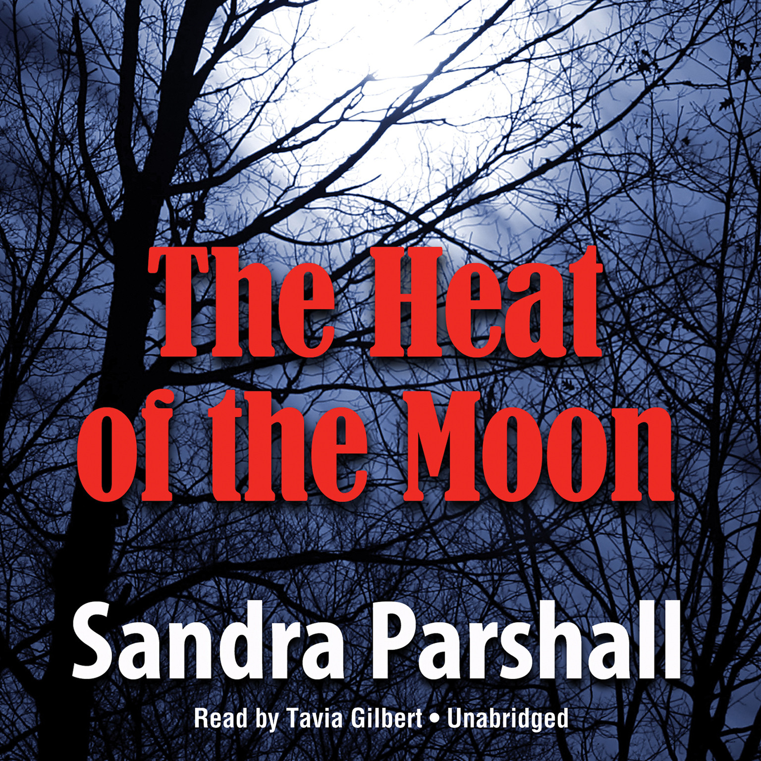 Printable The Heat of the Moon Audiobook Cover Art