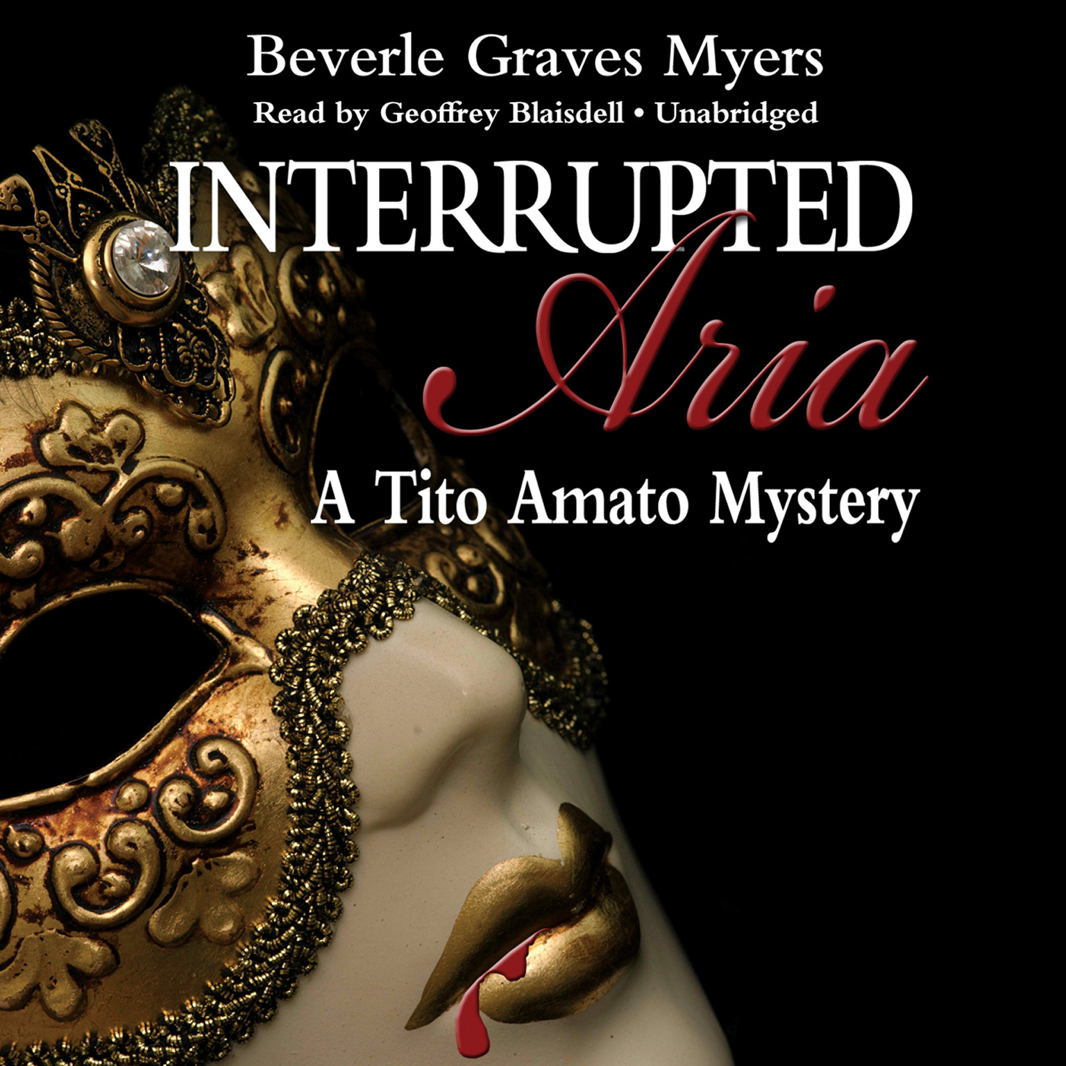 Printable Interrupted Aria: The First Baroque Mystery Audiobook Cover Art
