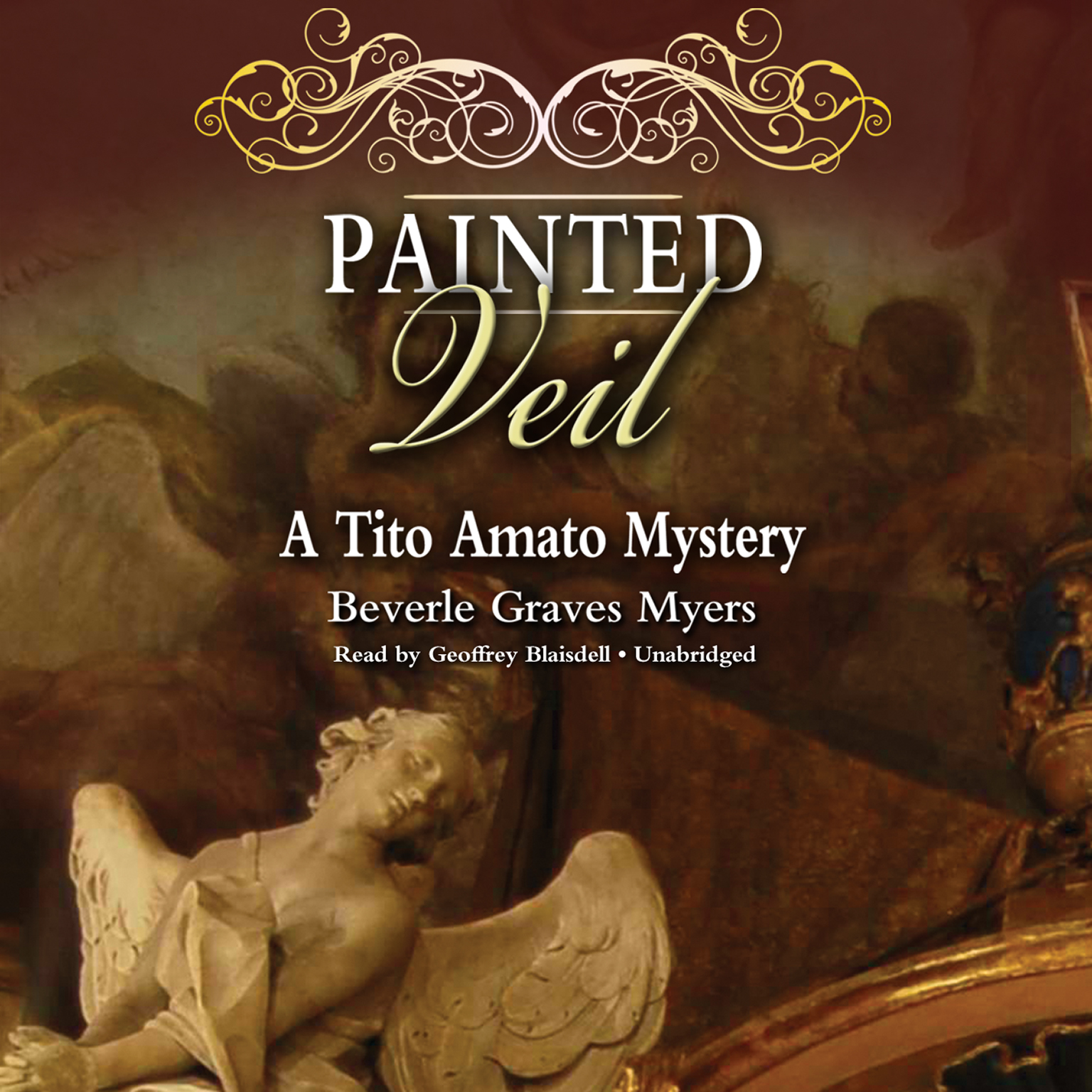 Printable Painted Veil: The Second Baroque Mystery Audiobook Cover Art