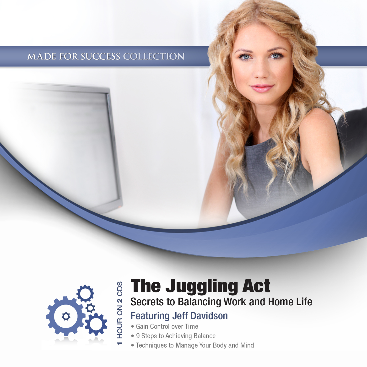 Printable The Juggling Act: Secrets to Balancing Work and Home Life Audiobook Cover Art
