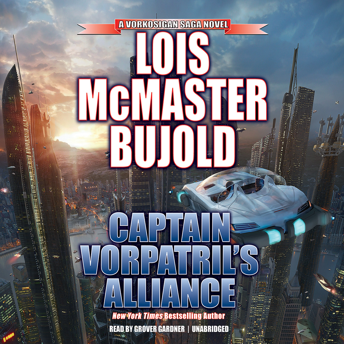 Printable Captain Vorpatril's Alliance Audiobook Cover Art