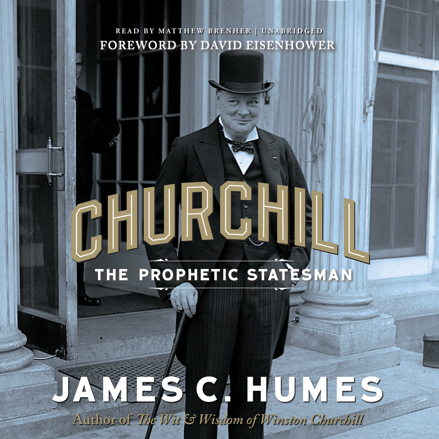 Printable Churchill: The Prophetic Statesman Audiobook Cover Art