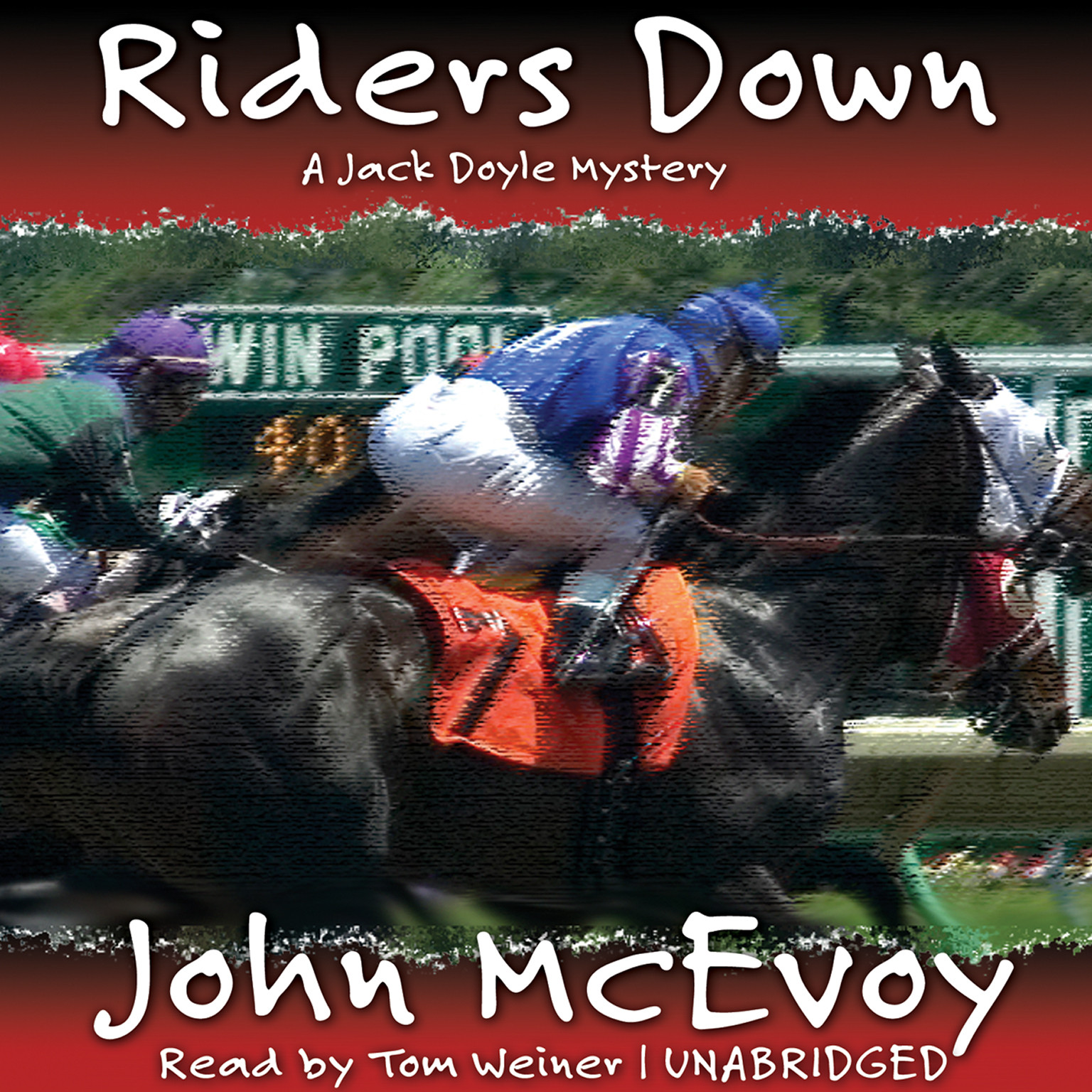Printable Riders Down Audiobook Cover Art
