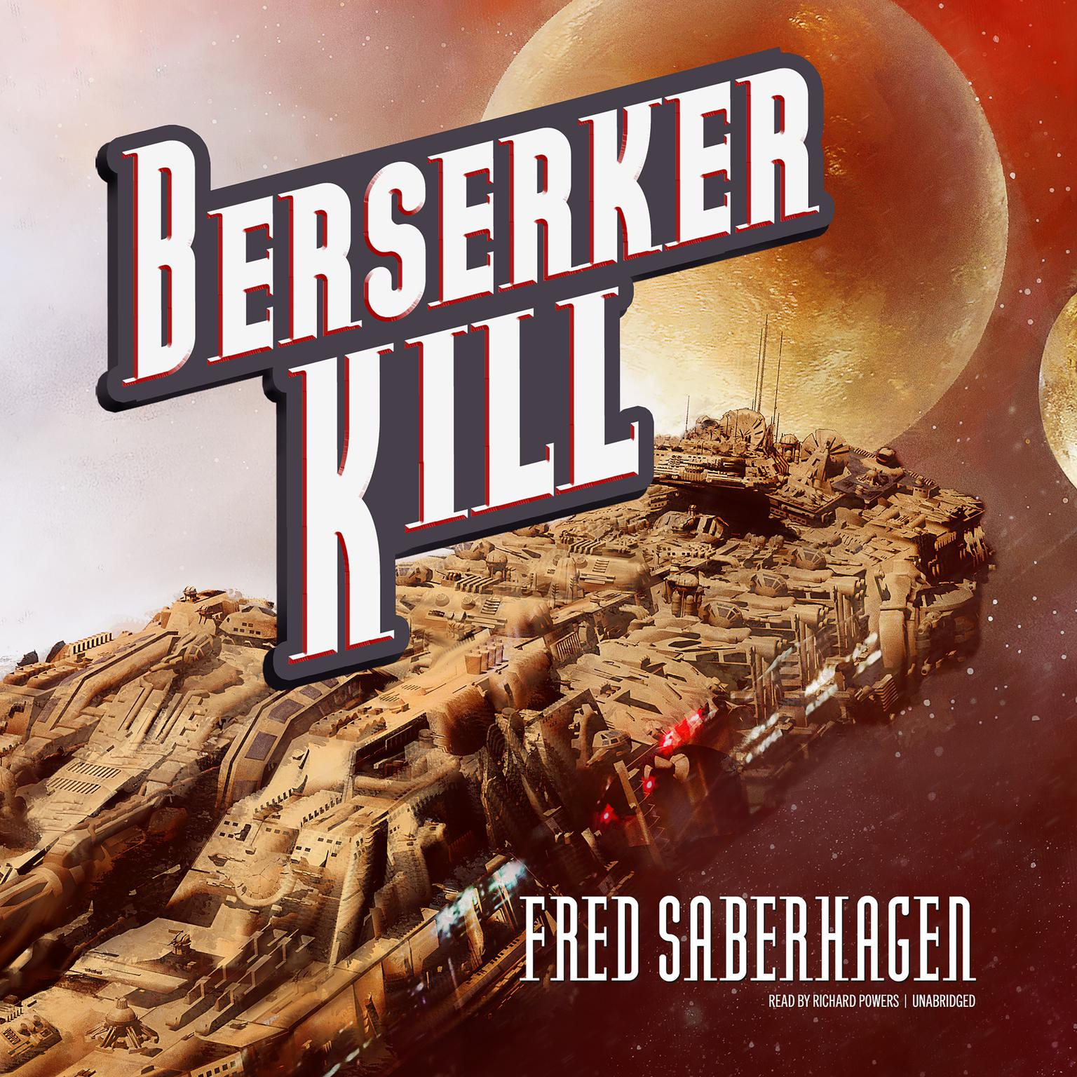 Printable Berserker Kill Audiobook Cover Art