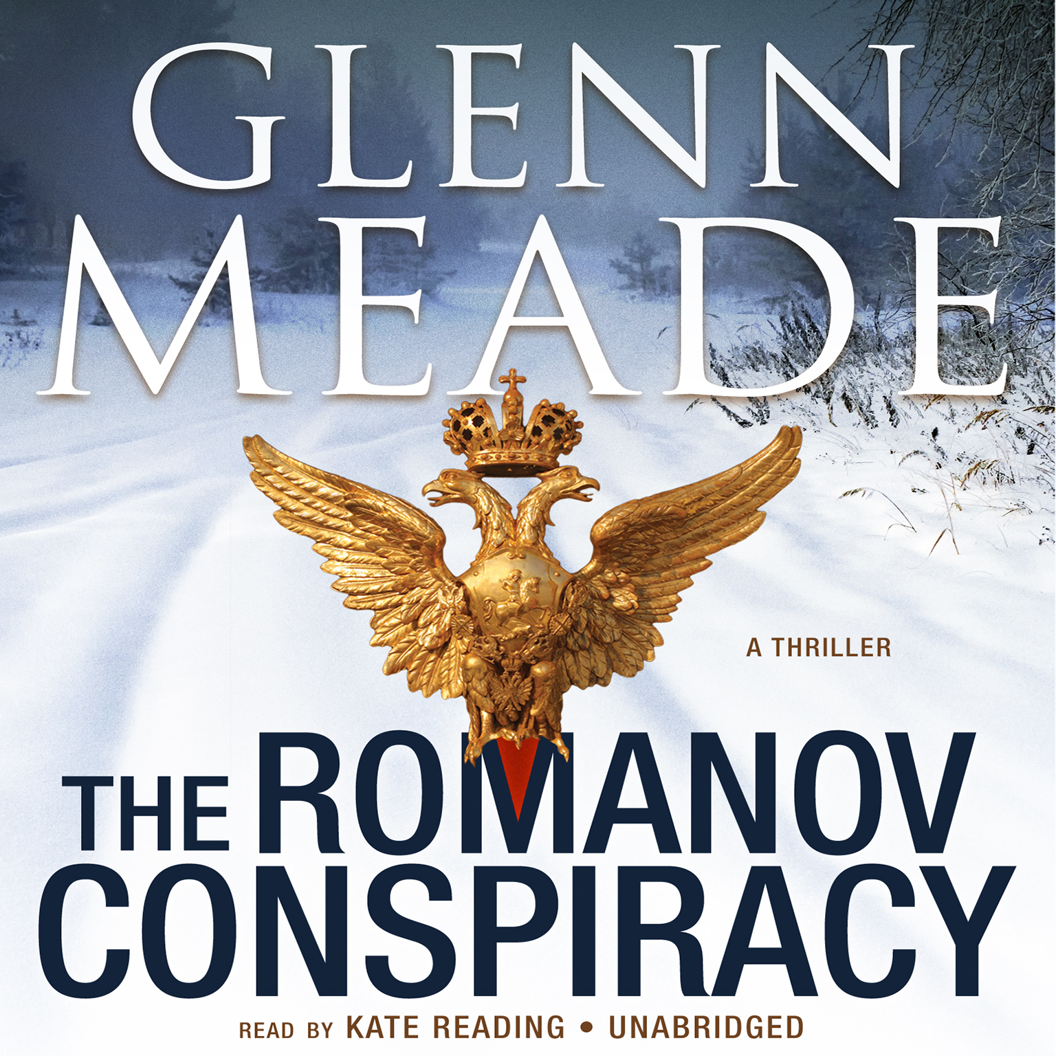 Printable The Romanov Conspiracy: A Thriller Audiobook Cover Art