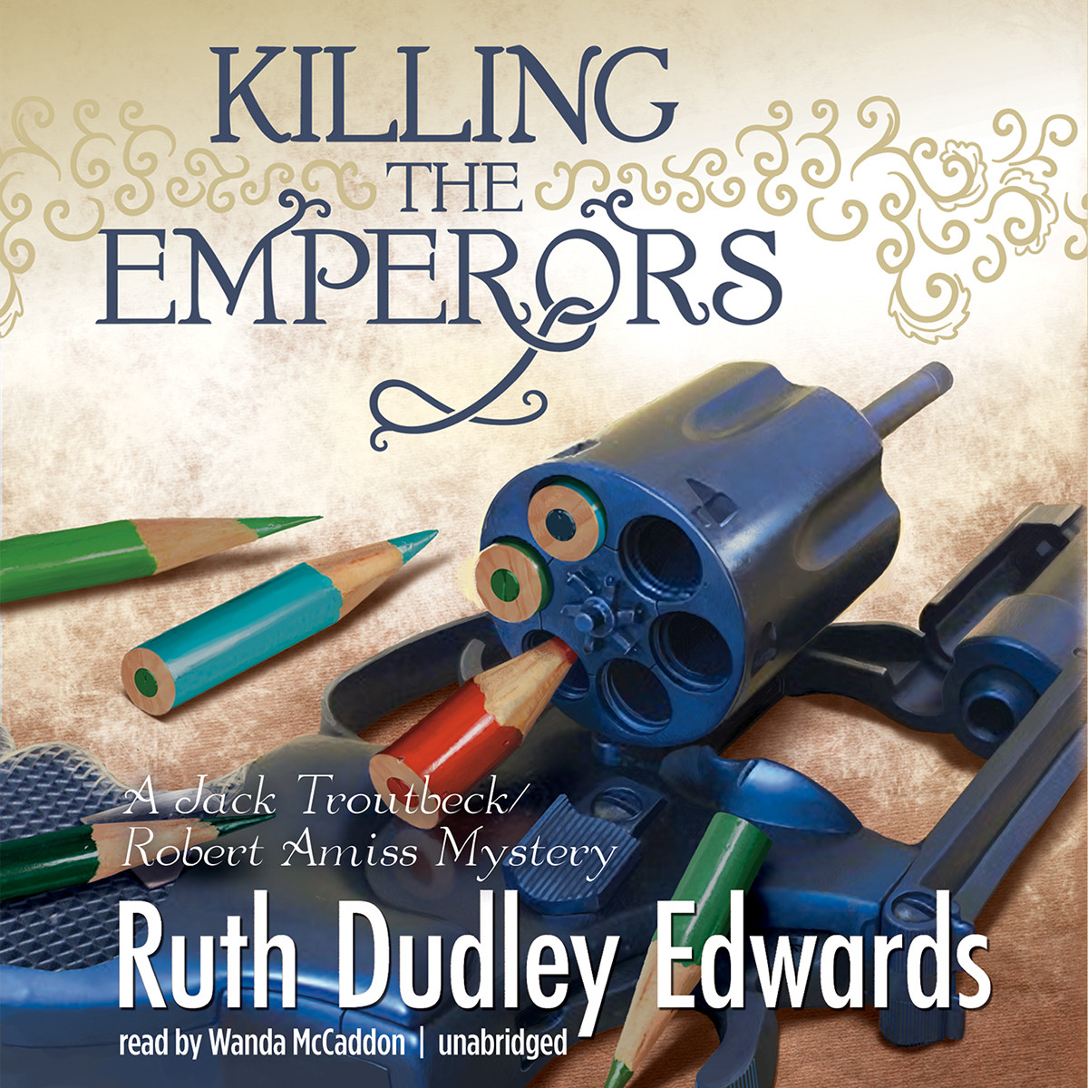 Printable Killing the Emperors: A Jack Troutbeck / Robert Amiss Mystery Audiobook Cover Art