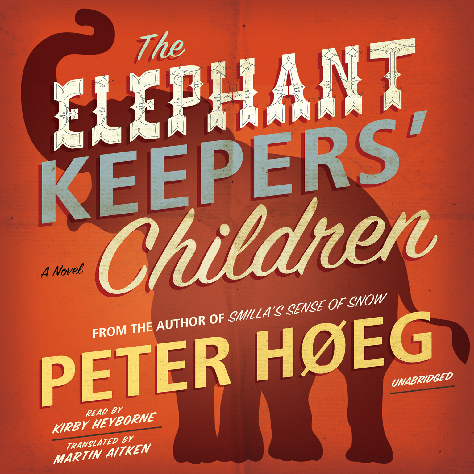 Printable The Elephant Keepers' Children Audiobook Cover Art