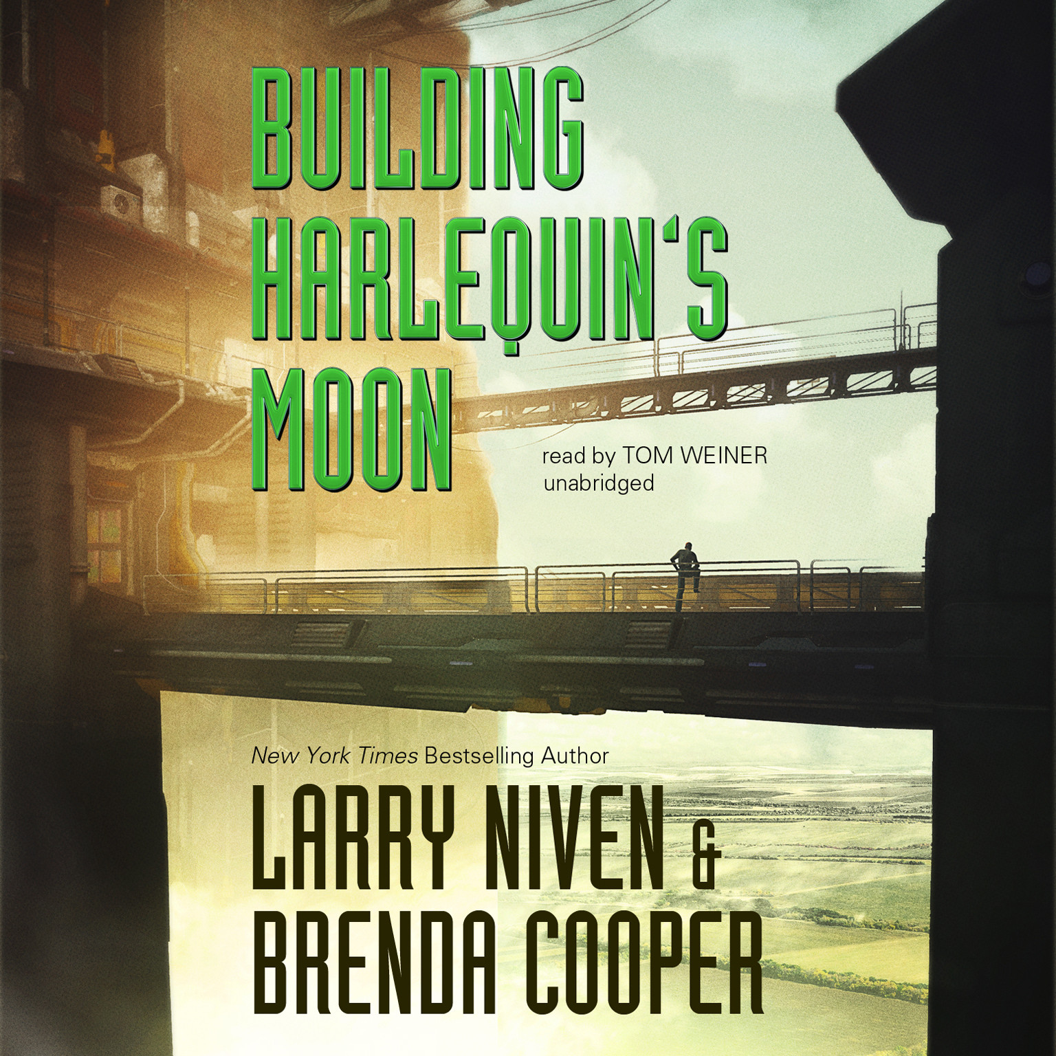 Printable Building Harlequin's Moon Audiobook Cover Art