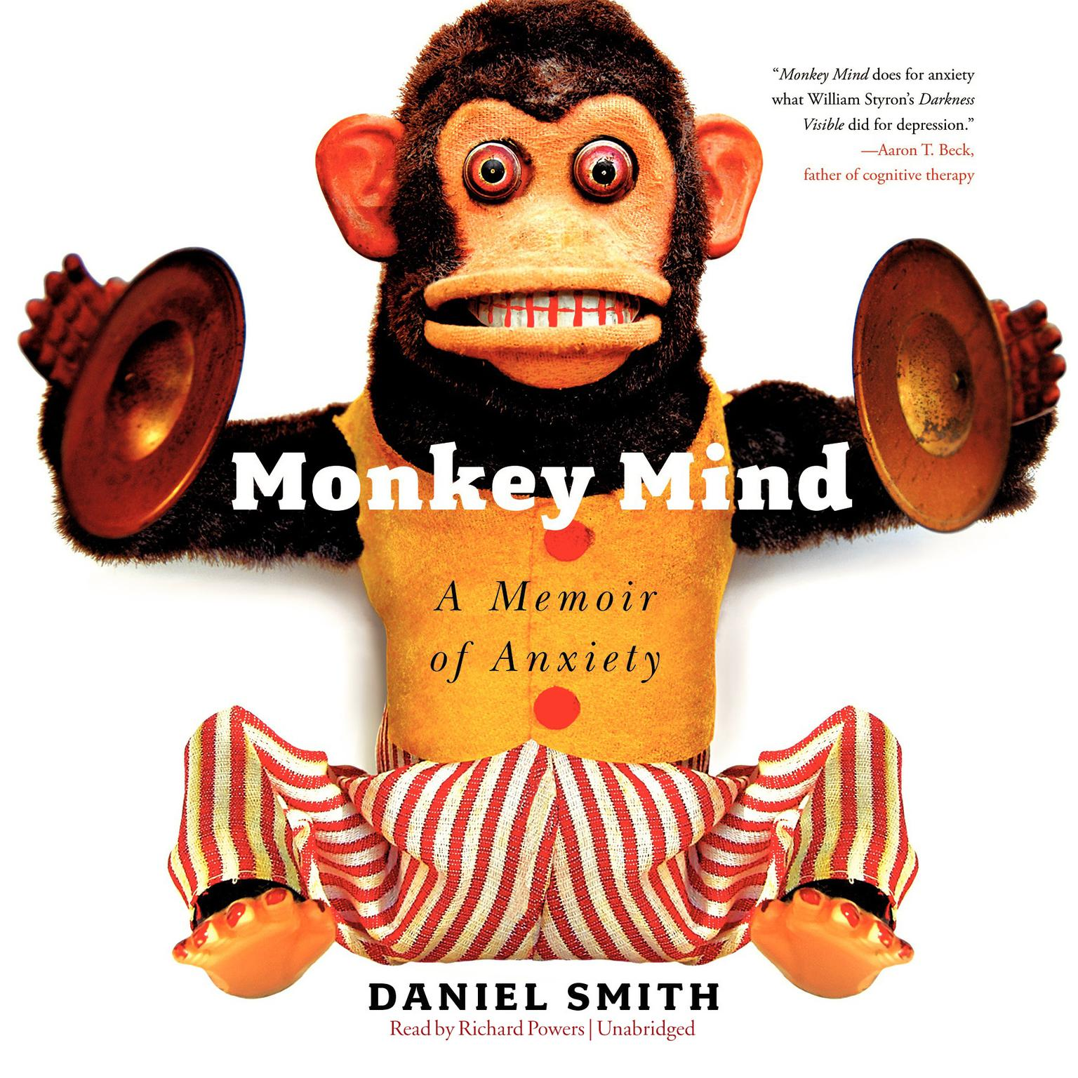 Printable Monkey Mind: A Memoir of Anxiety Audiobook Cover Art