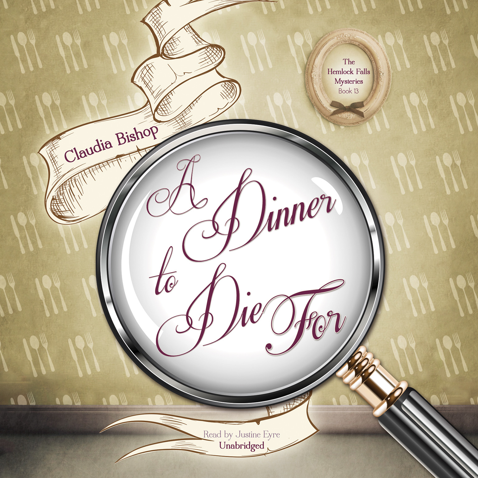 Printable A Dinner to Die For Audiobook Cover Art