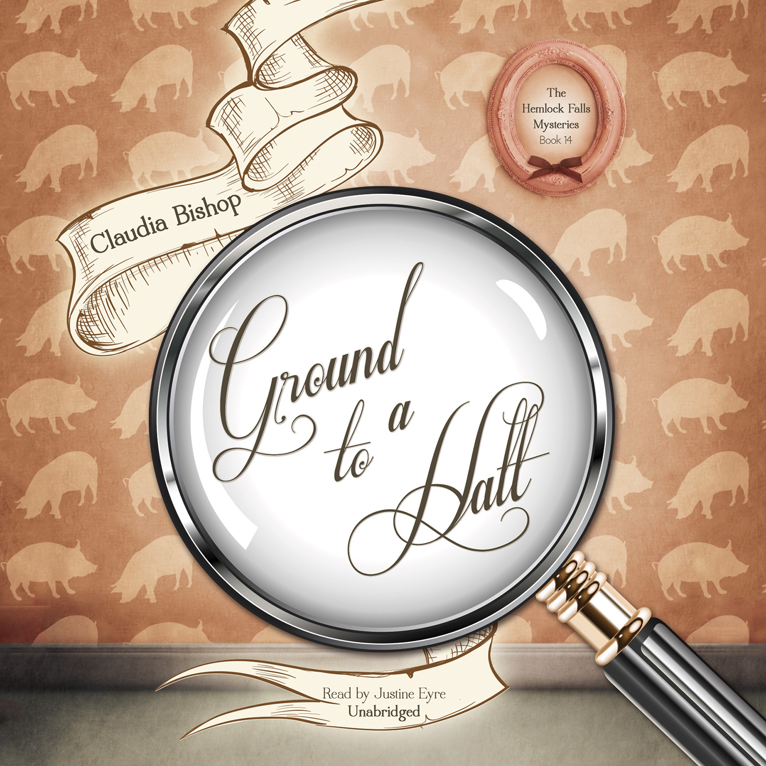Printable Ground to a Halt Audiobook Cover Art