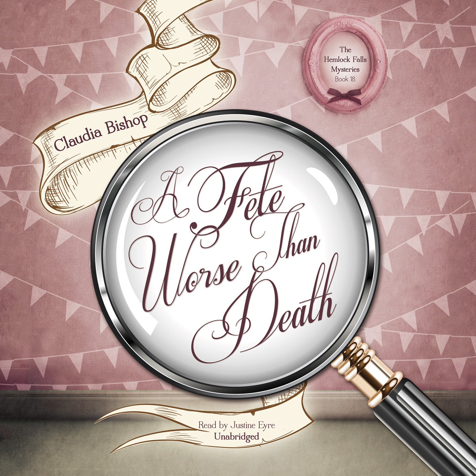 A Fete Worse Than Death Audiobook, by Claudia Bishop