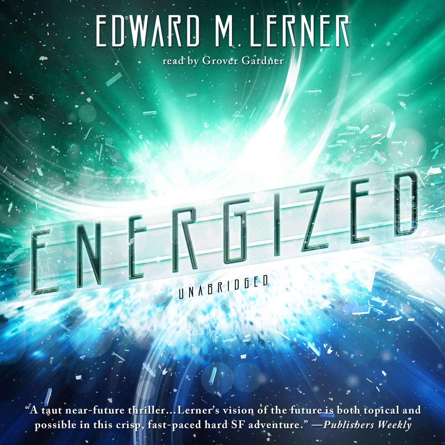 Printable Energized Audiobook Cover Art