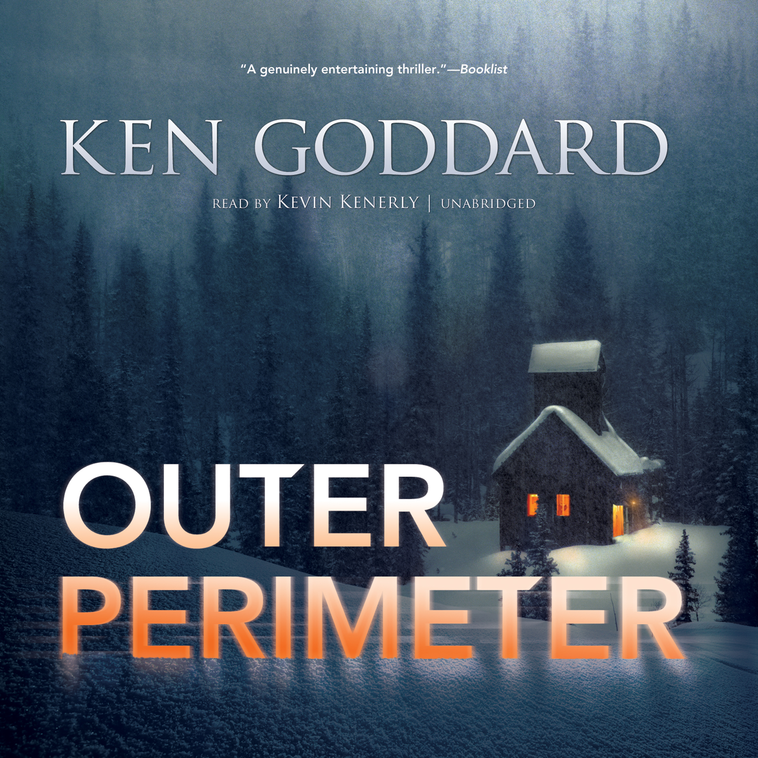 Printable Outer Perimeter Audiobook Cover Art