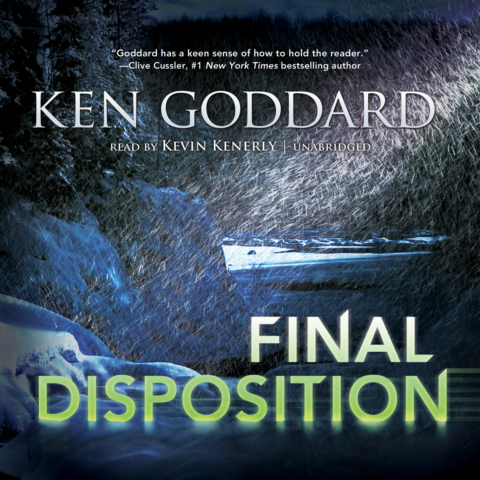 Printable Final Disposition Audiobook Cover Art