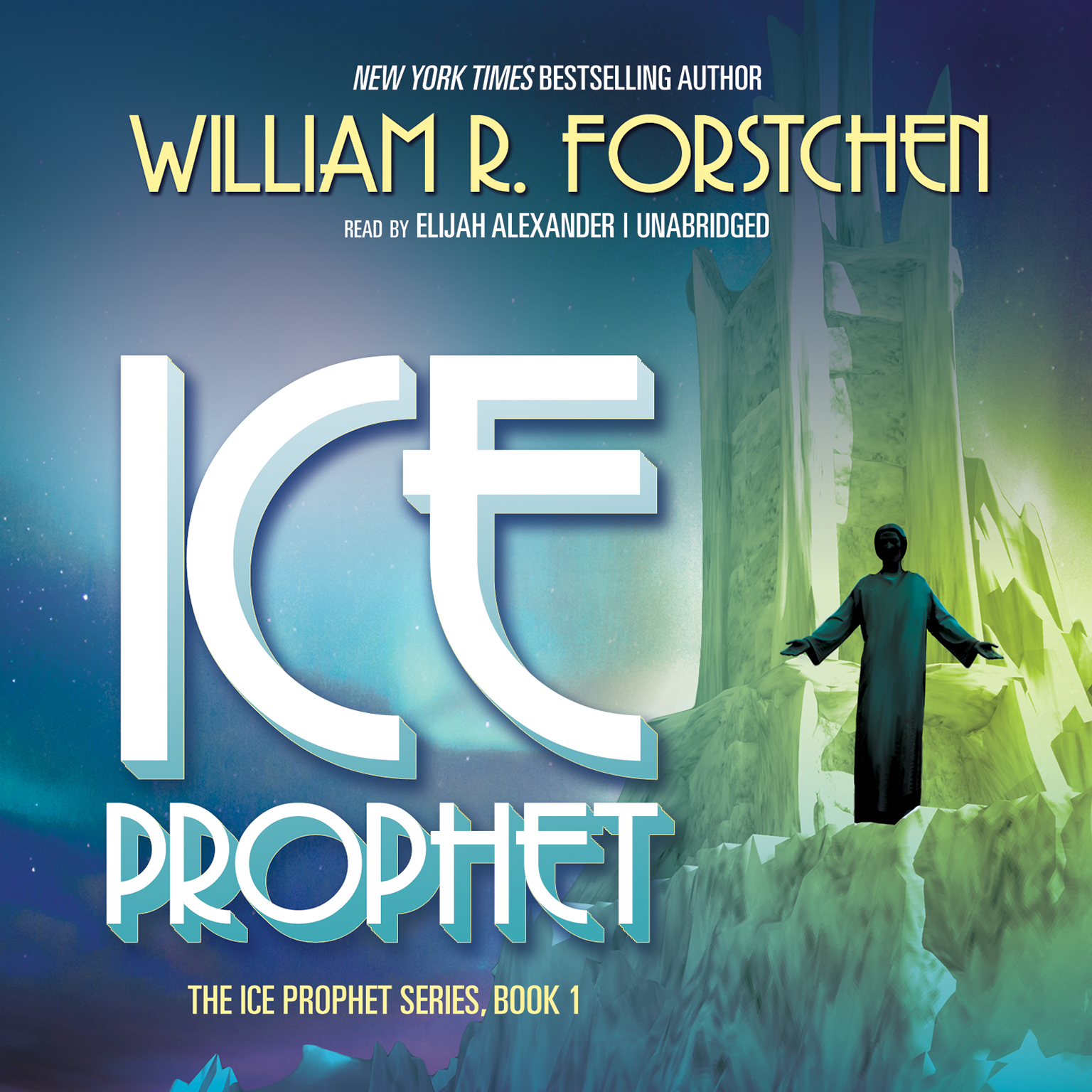 Printable Ice Prophet Audiobook Cover Art