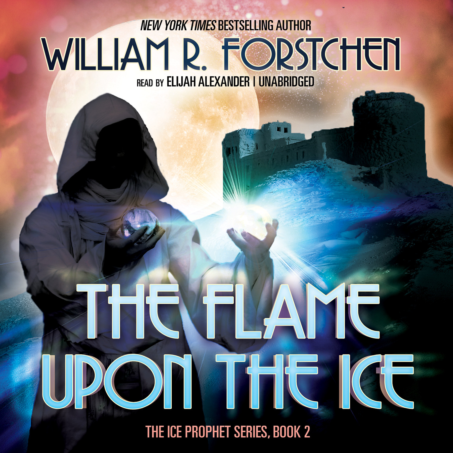 Printable The Flame upon the Ice Audiobook Cover Art