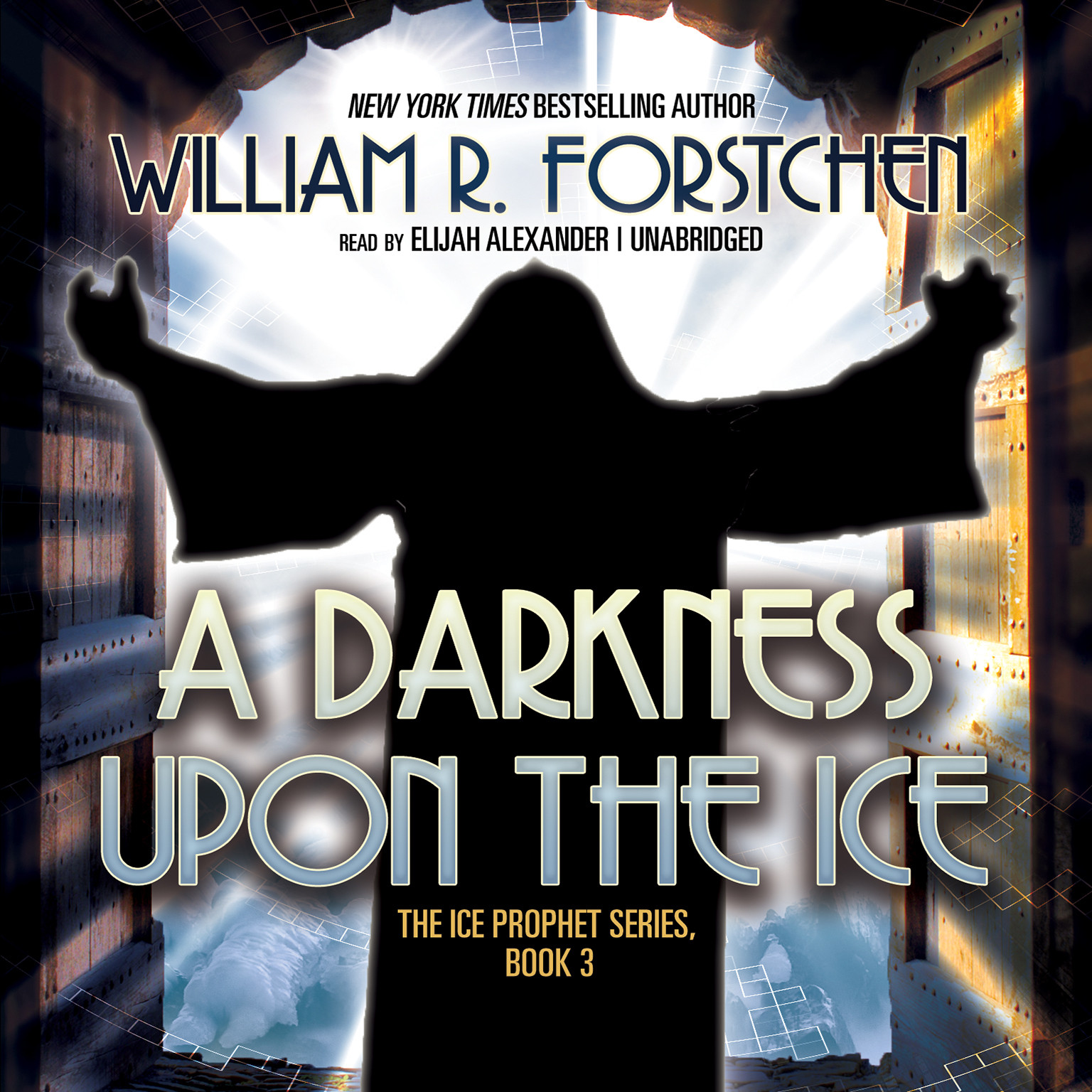Printable A Darkness upon the Ice Audiobook Cover Art