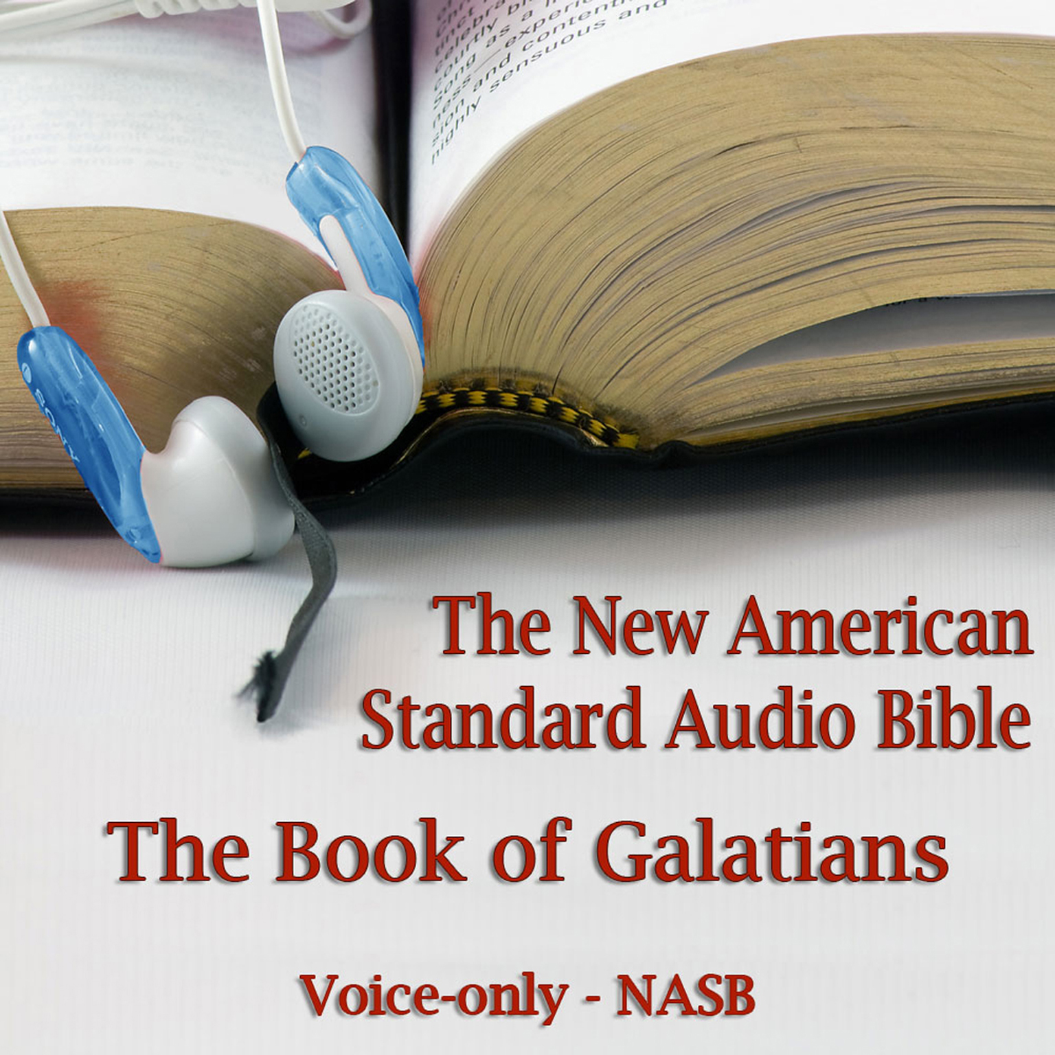 Printable The Book of Galatians: The Voice Only New American Standard Bible (NASB) Audiobook Cover Art