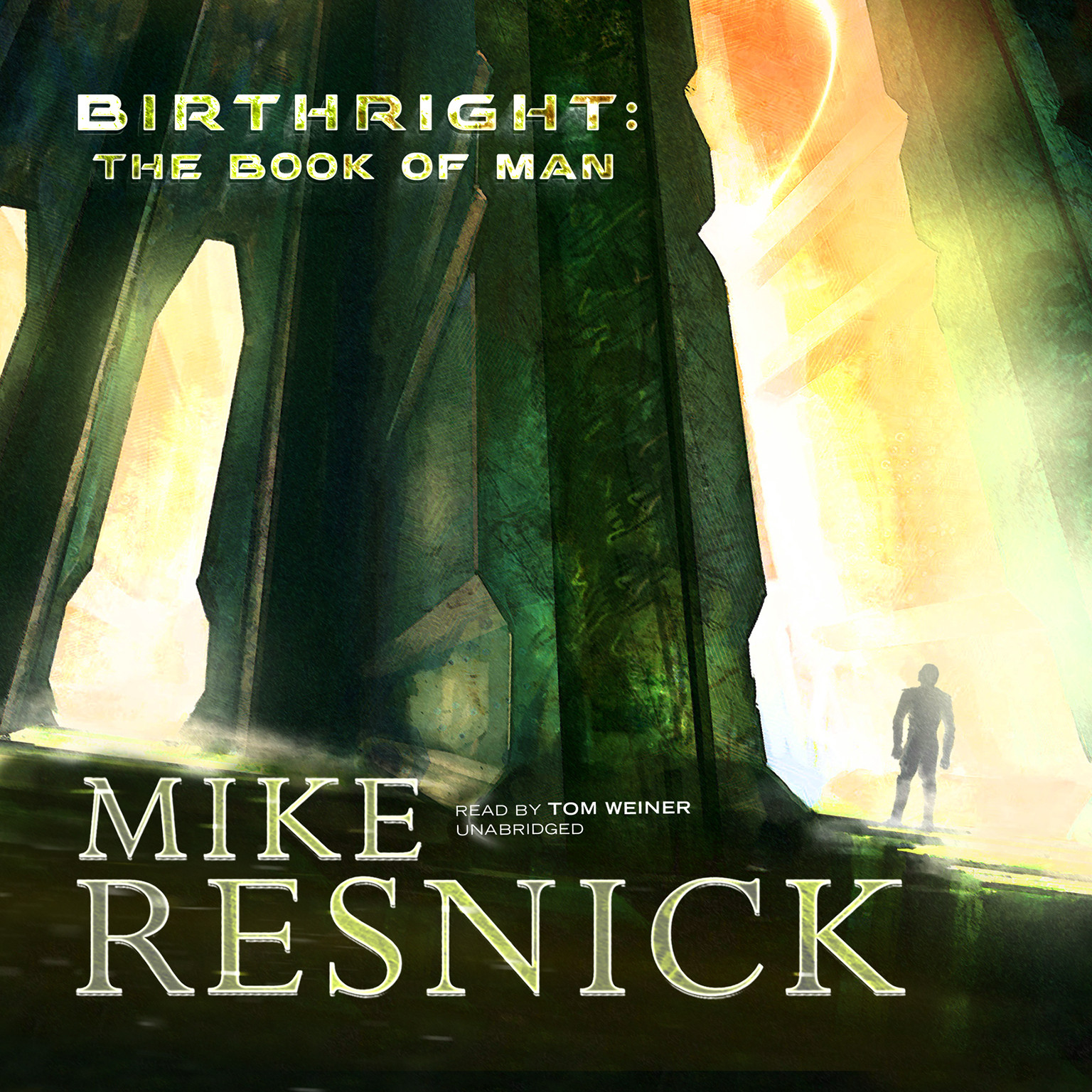 Printable Birthright: The Book of Man Audiobook Cover Art