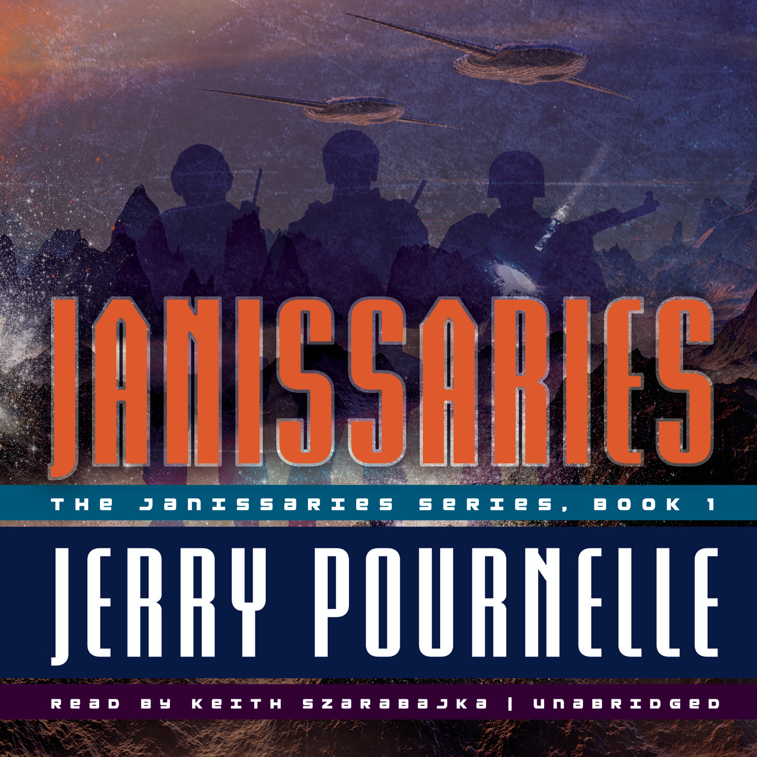 Printable Janissaries Audiobook Cover Art