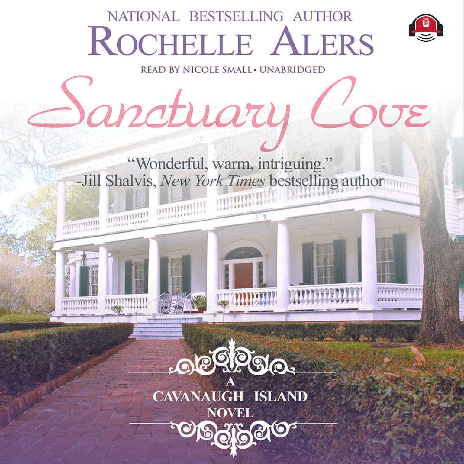 Printable Sanctuary Cove: A Cavanaugh Island Novel Audiobook Cover Art