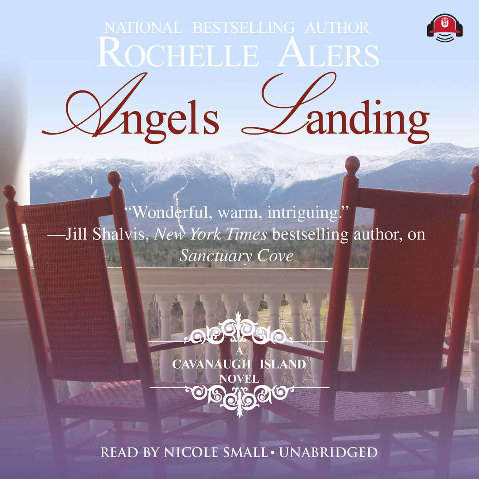Printable Angels Landing: A Cavanaugh Island Novel Audiobook Cover Art