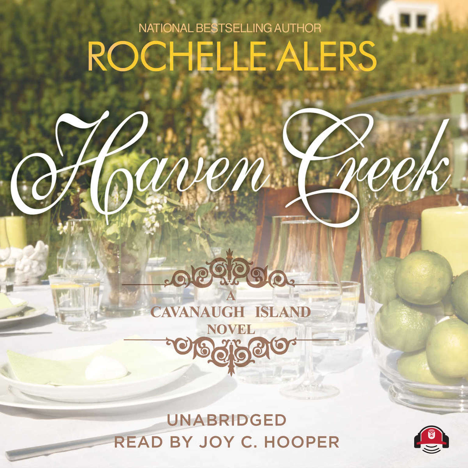 Printable Haven Creek: A Cavanaugh Island Novel Audiobook Cover Art