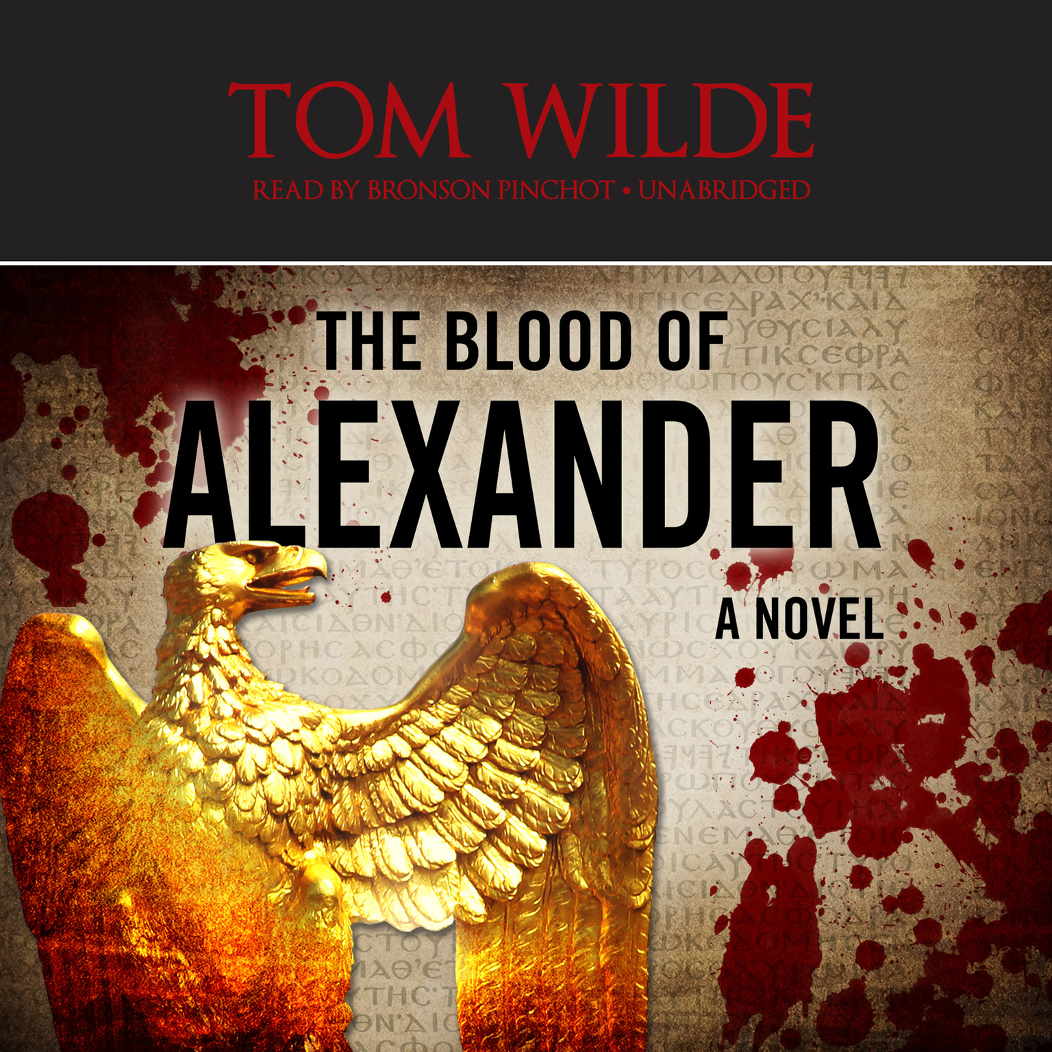 Printable The Blood of Alexander Audiobook Cover Art