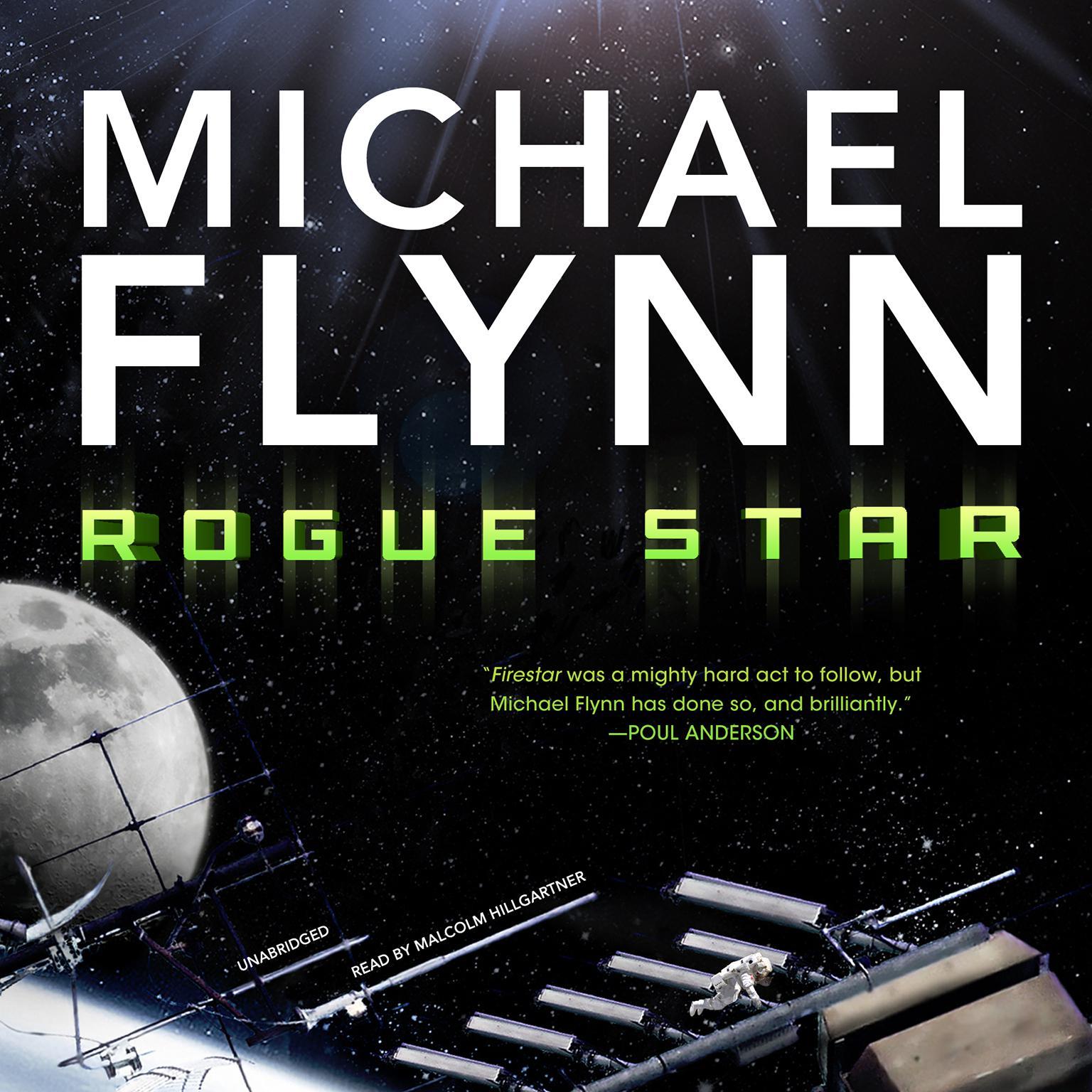 Printable Rogue Star Audiobook Cover Art