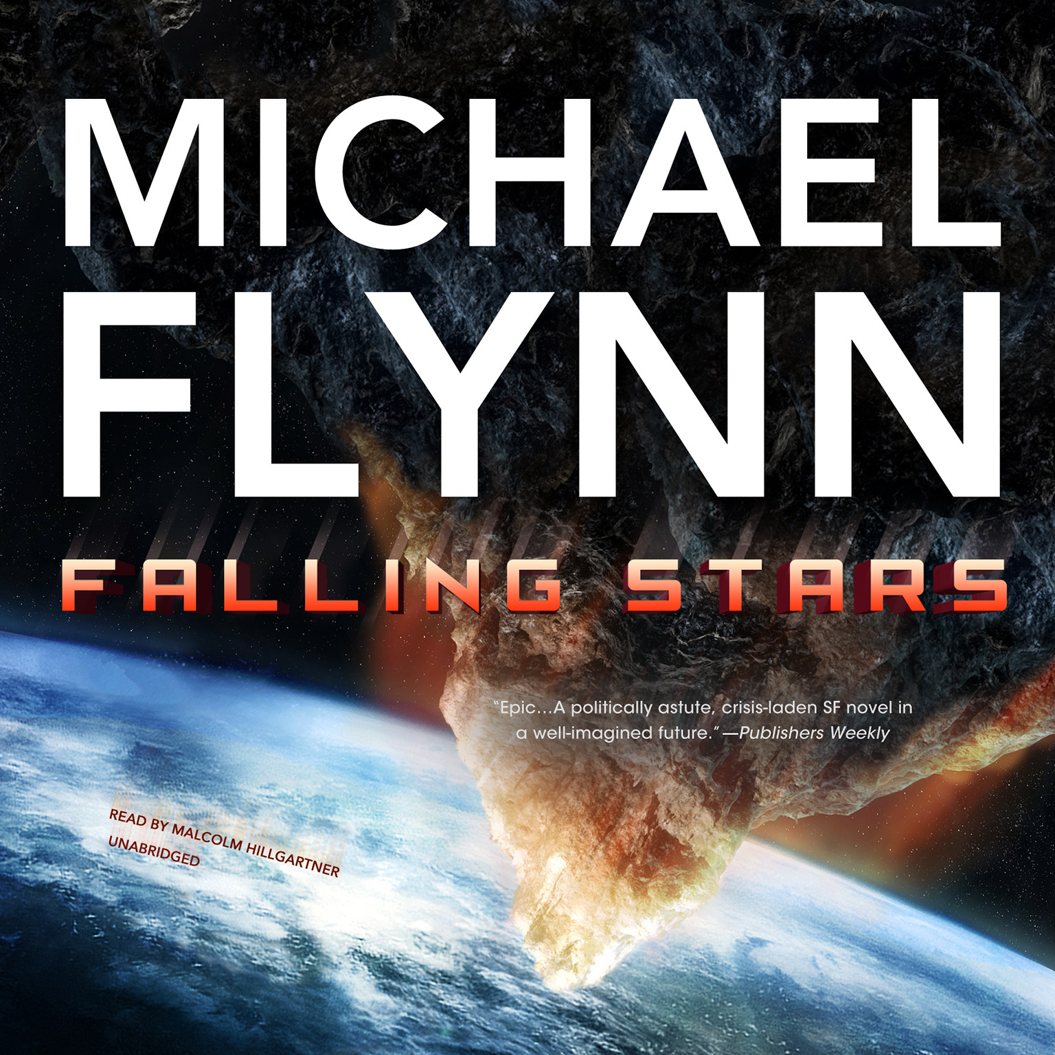Printable Falling Stars Audiobook Cover Art