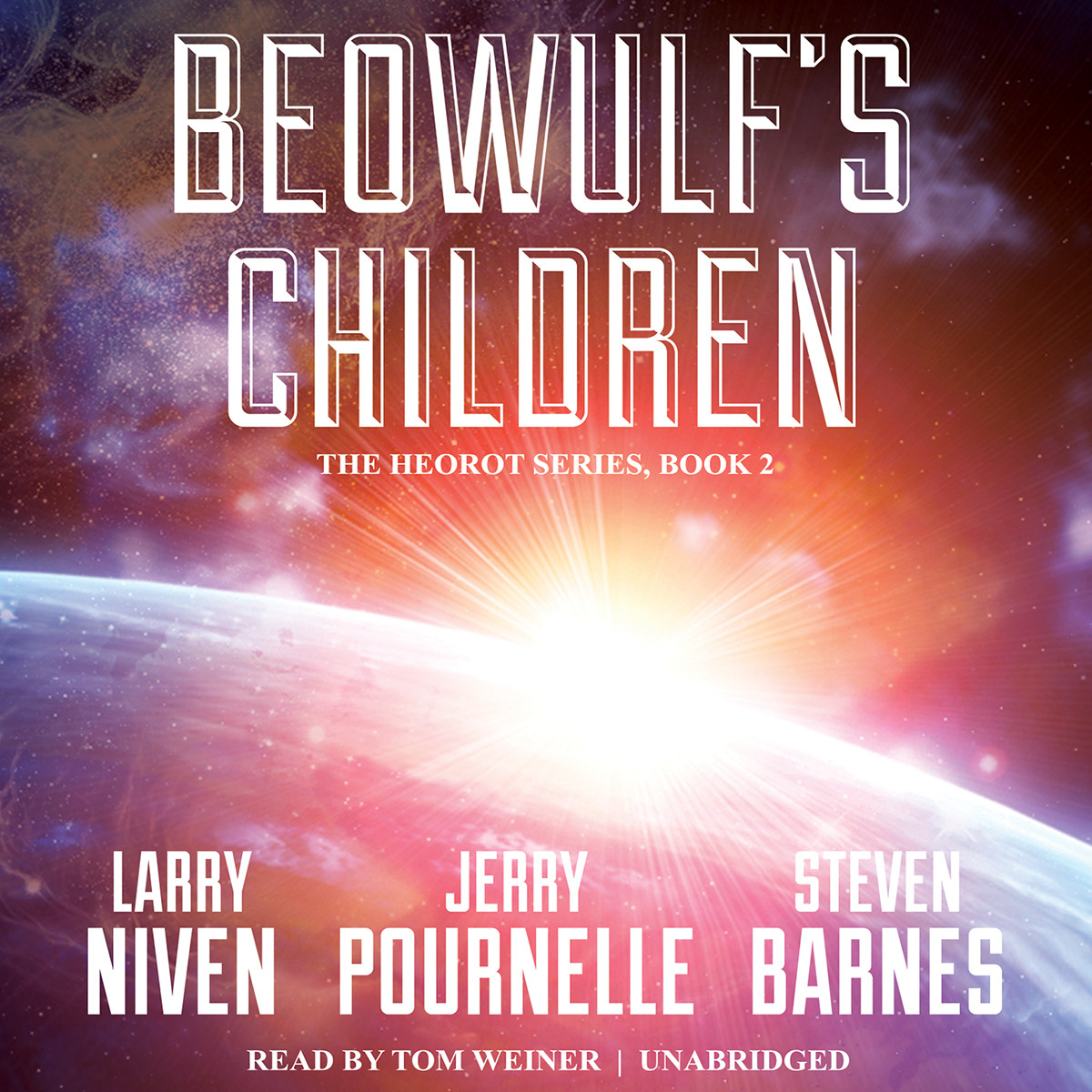 Printable Beowulf's Children Audiobook Cover Art