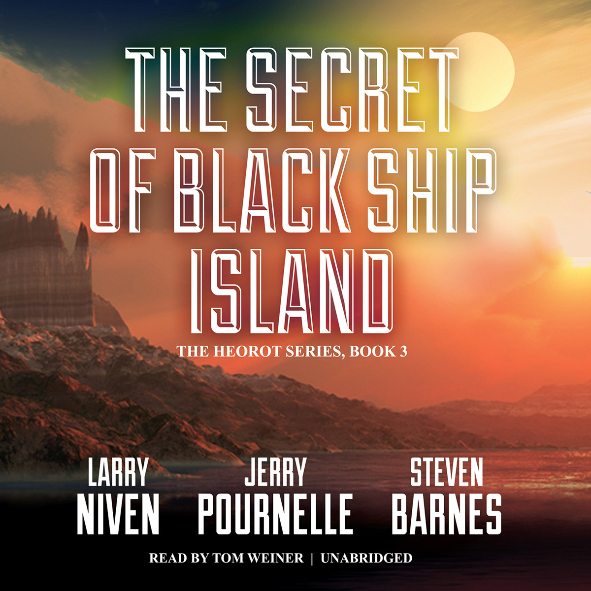 Printable The Secret of Black Ship Island Audiobook Cover Art