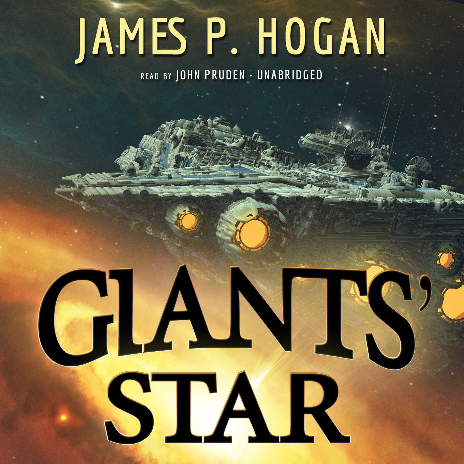 Printable Giants' Star Audiobook Cover Art