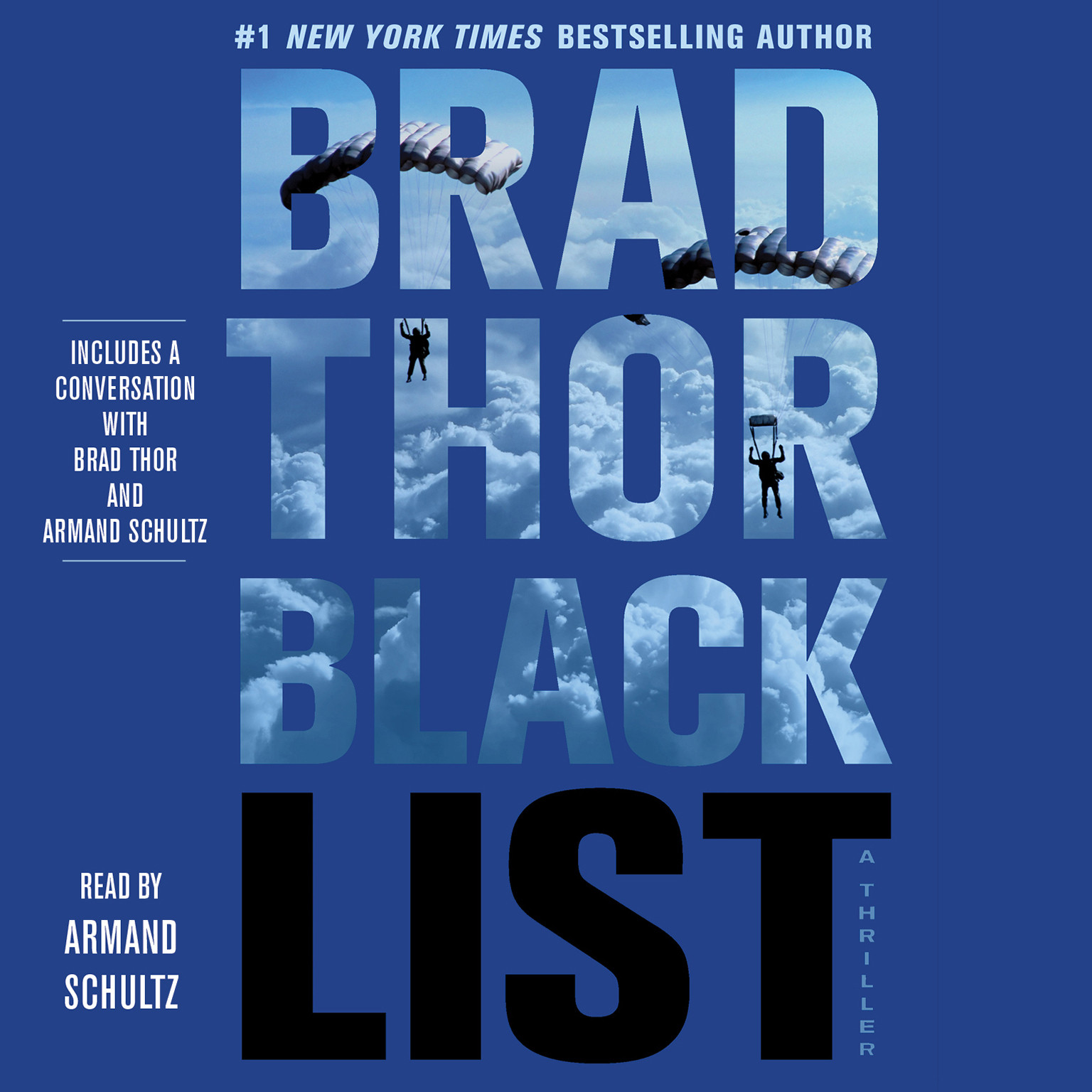 Printable Black List: A Thriller Audiobook Cover Art