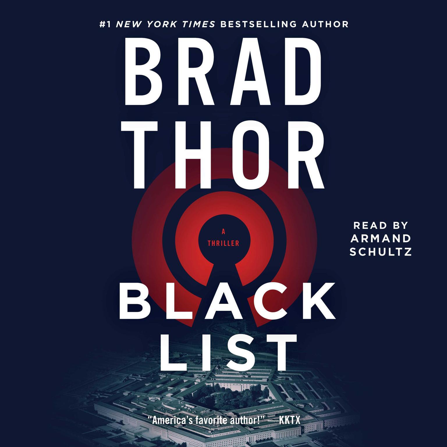 Printable Black List: A Thriller Audiobook Cover Art