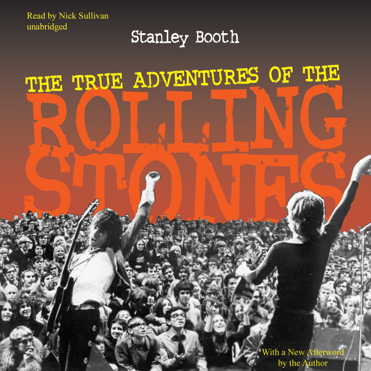 Printable The True Adventures of the Rolling Stones Audiobook Cover Art