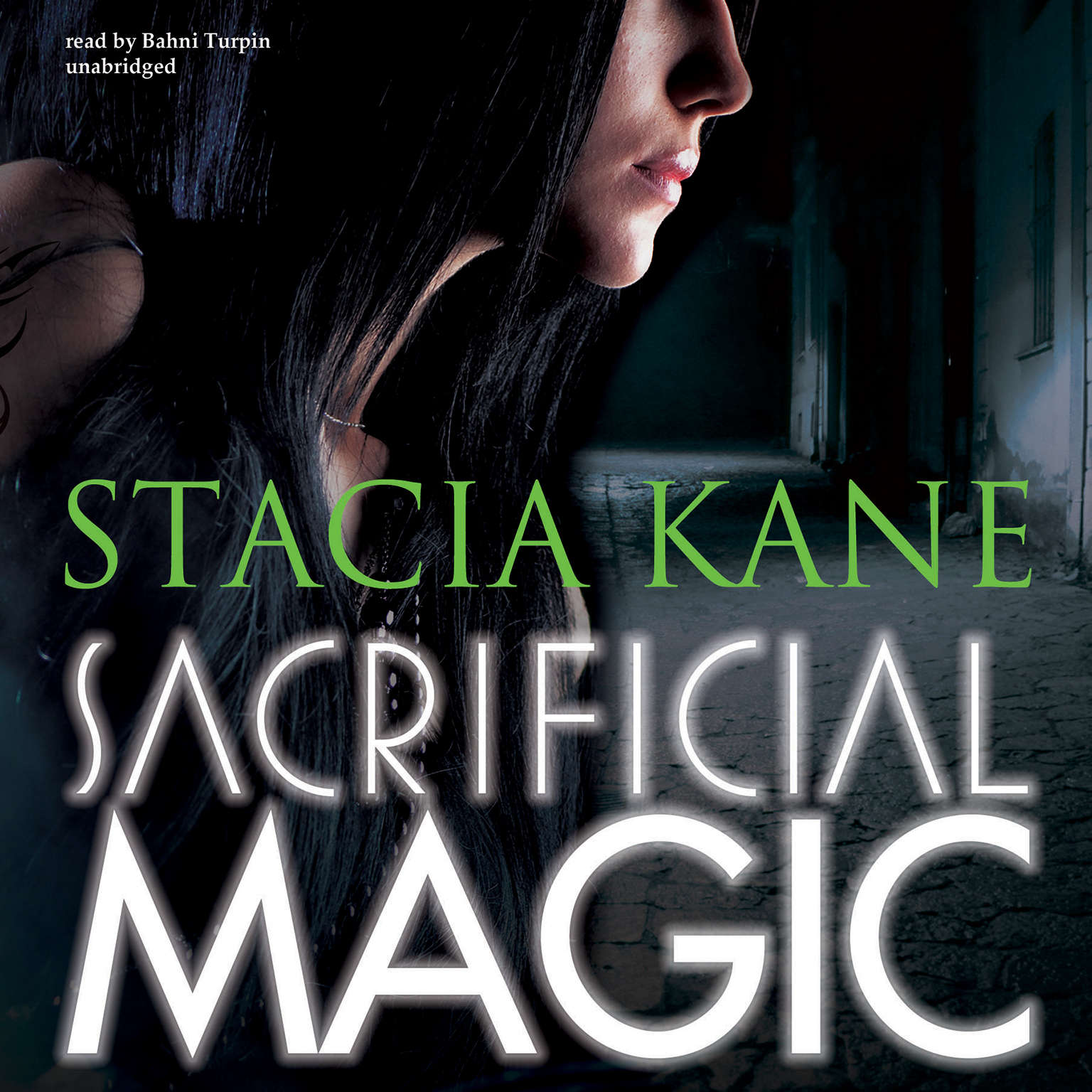 Printable Sacrificial Magic Audiobook Cover Art