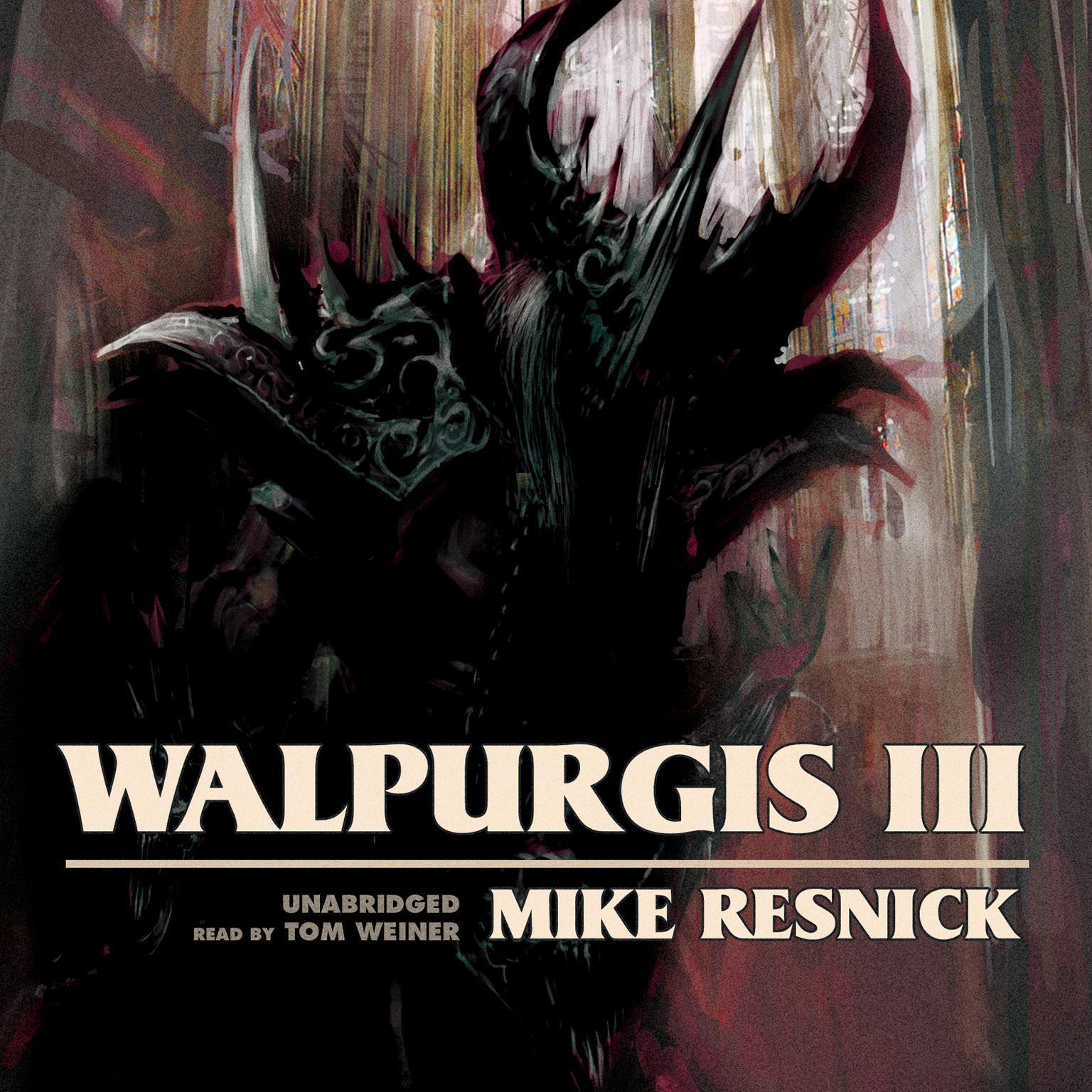 Printable Walpurgis III Audiobook Cover Art