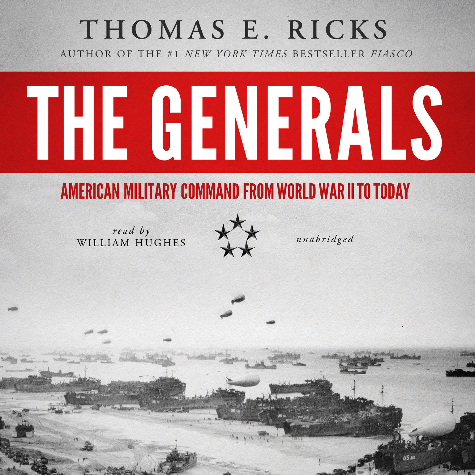 Printable The Generals: American Military Command from World War Audiobook Cover Art