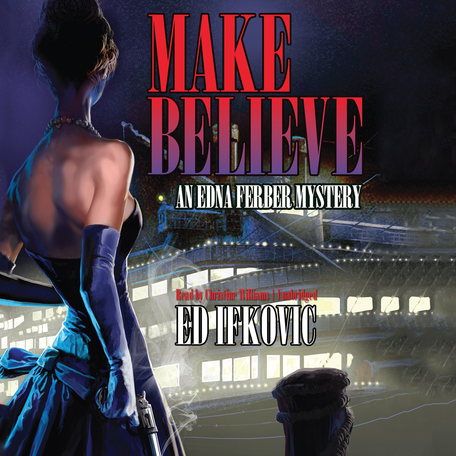 Printable Make Believe: An Edna Ferber Mystery Audiobook Cover Art