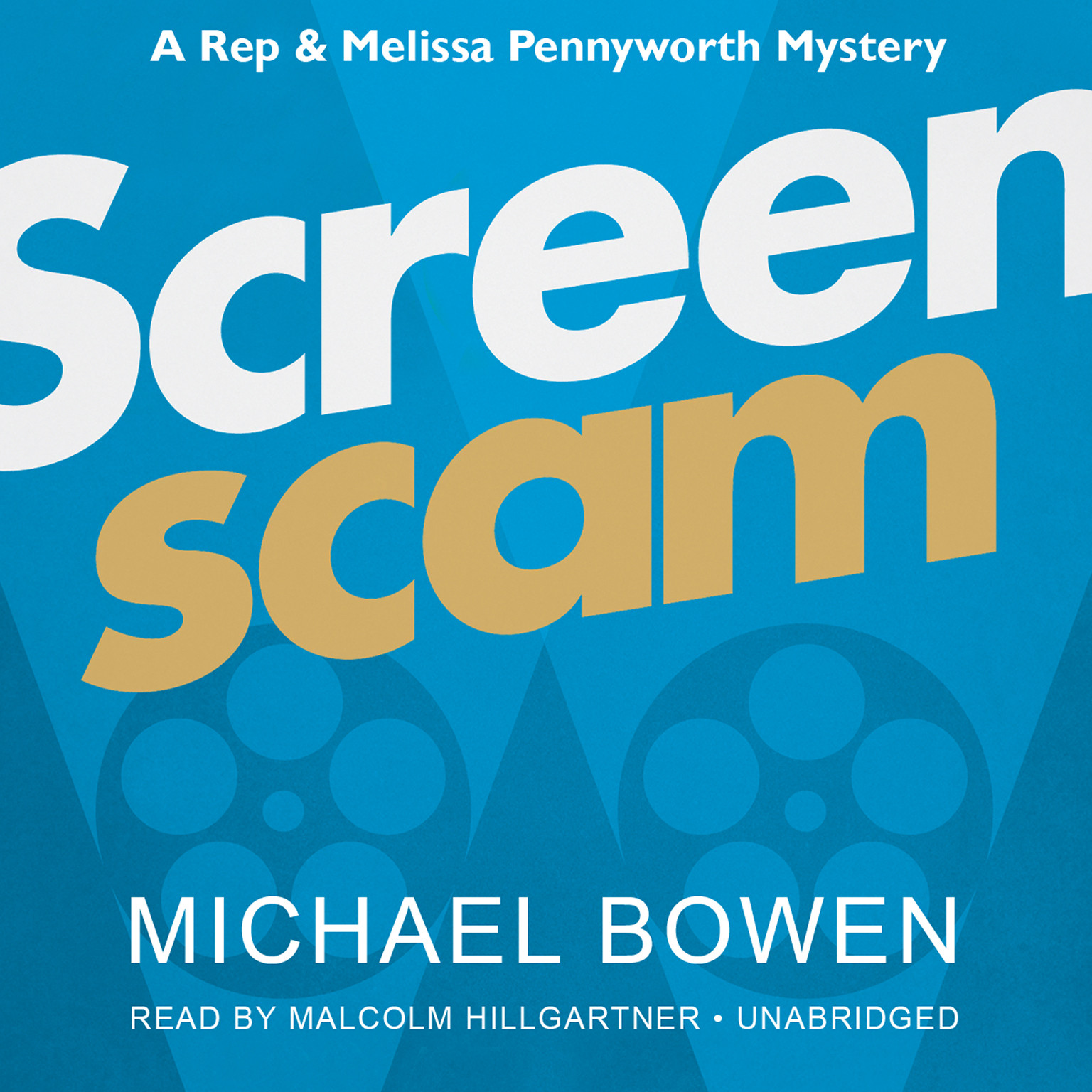 Printable Screenscam Audiobook Cover Art