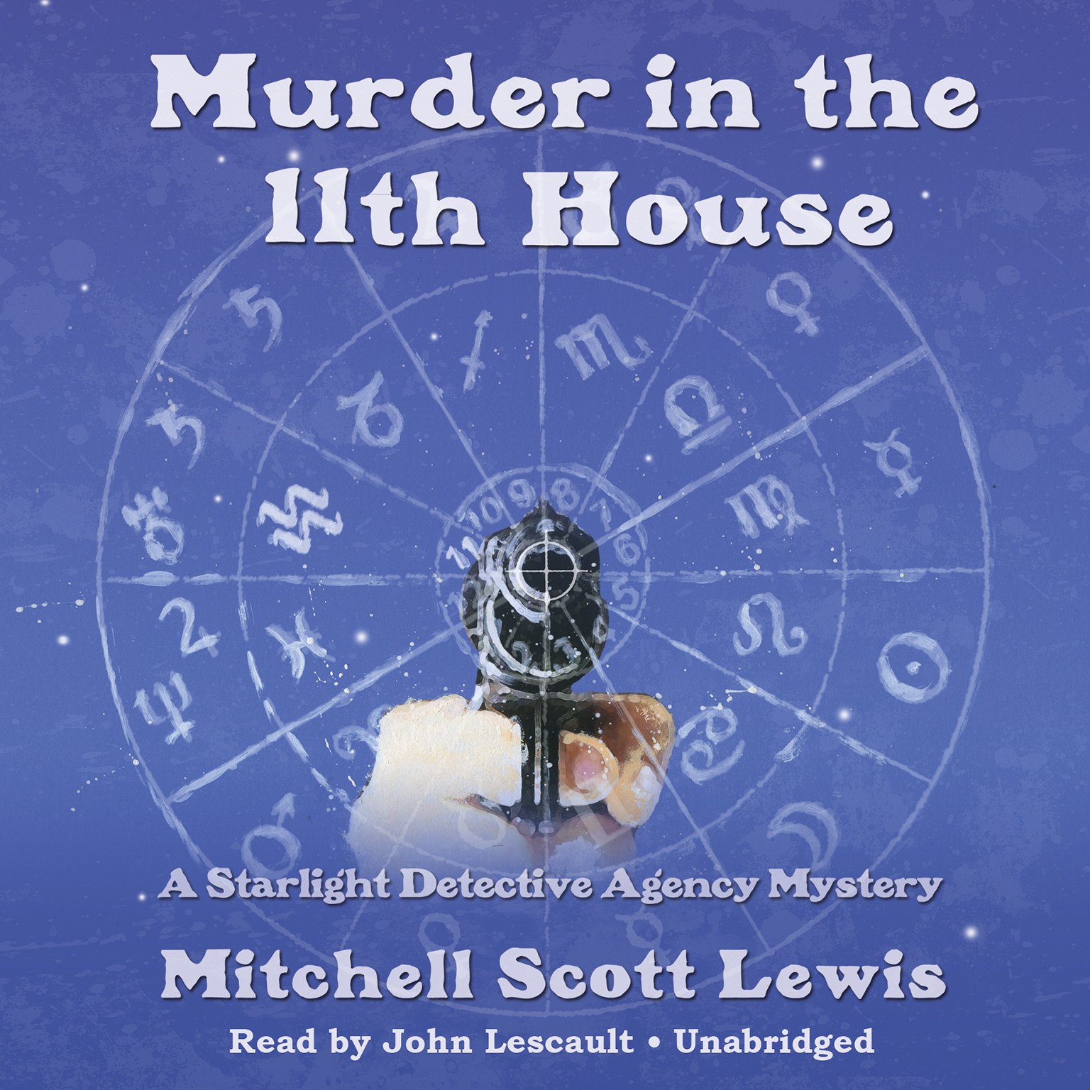 Printable Murder in the 11th House: A Starlight Detective Agency Mystery Audiobook Cover Art