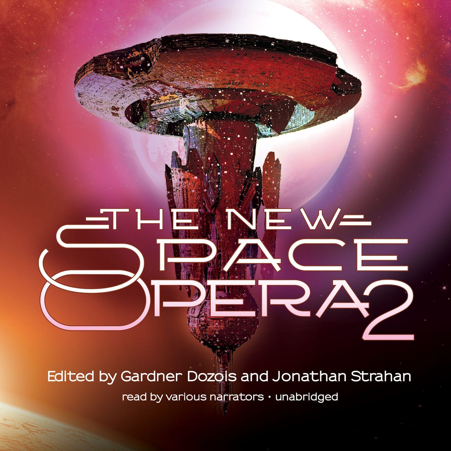 Printable The New Space Opera 2 Audiobook Cover Art