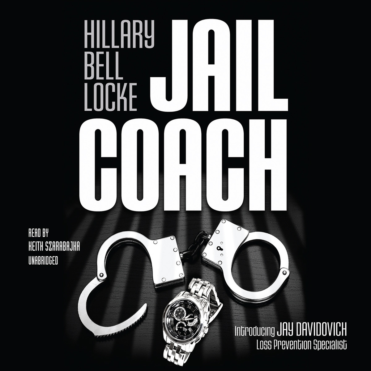 Printable Jail Coach: The Jay Davidovich Mysteries Audiobook Cover Art