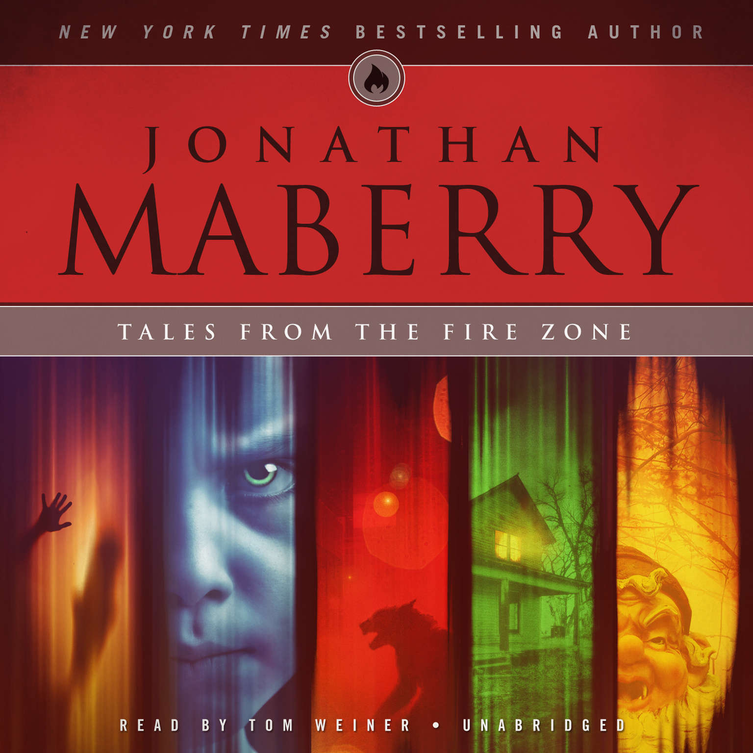 Printable Tales from the Fire Zone Audiobook Cover Art