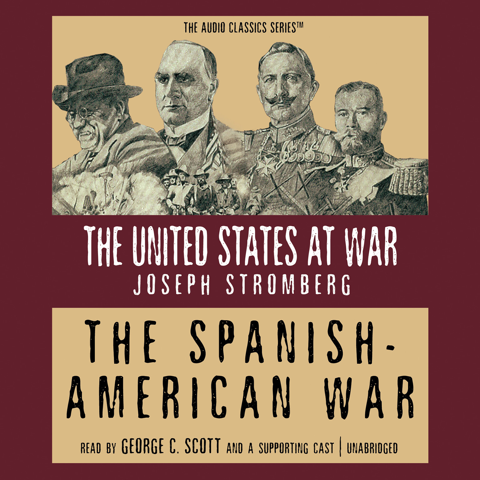 Printable The Spanish-American War Audiobook Cover Art