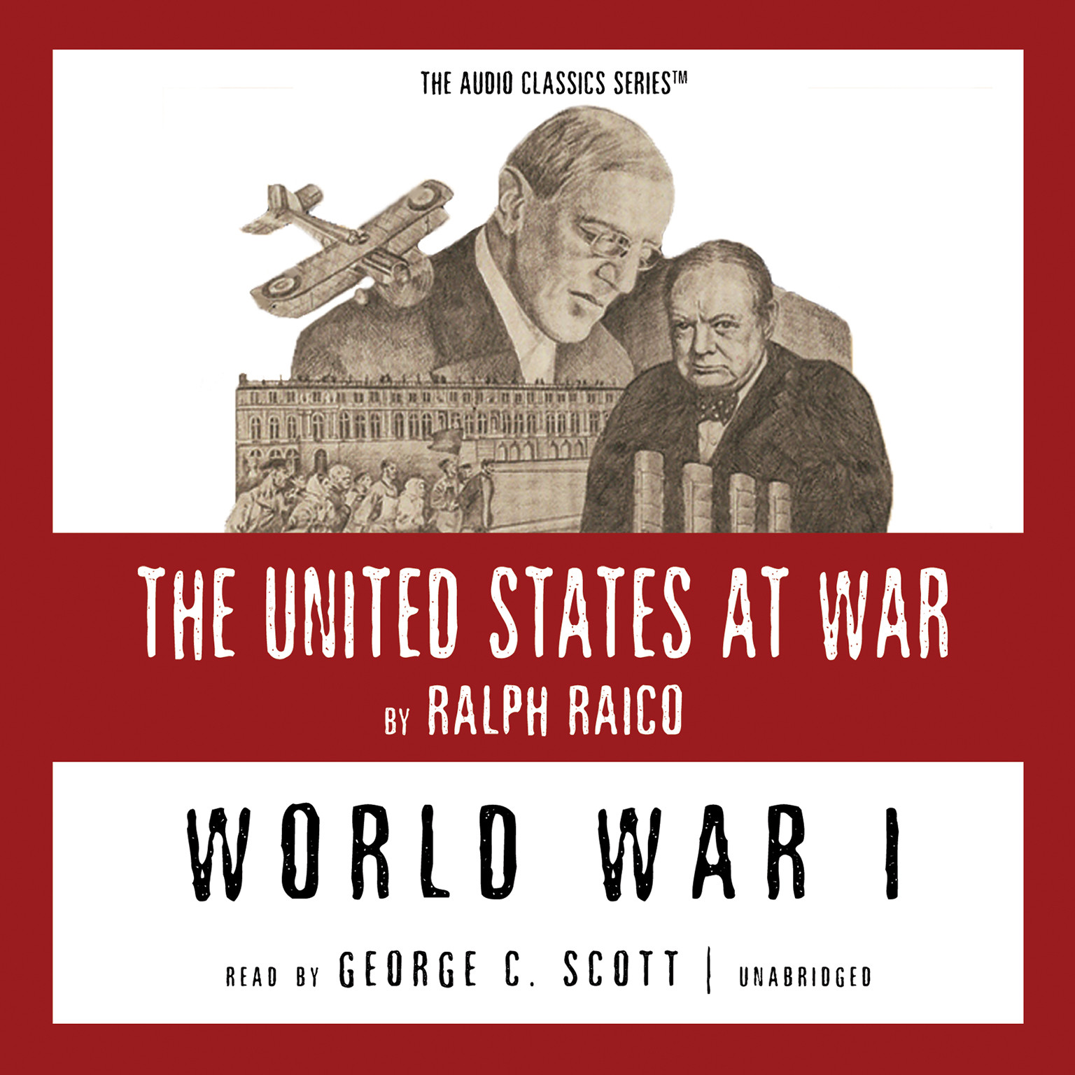 Printable World War I Audiobook Cover Art